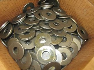 NEW lot of 260 ISSCO 3 4  Grade 8 Flat Washer USS Carbon Steel Plain Finish