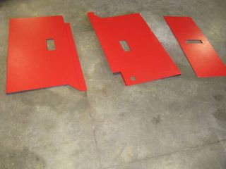 Kubota K74534 NEW spindle covers  lT RT and Center Covers For Kubota Mower Deck
