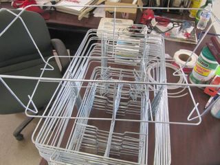 16 New Wire Baskets   20  l x 12  w x 8   D