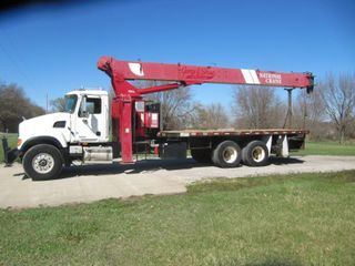 2007 Mack Granite Heavy Spec With a   920 A National  Crane  MIlES 57 335 Hours 4812