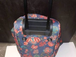 Floral Print luggage bag set of 2 on wheels