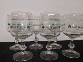 Irish Coffee Goblets Set of 6