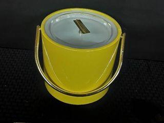 Yellow Ice Bucket