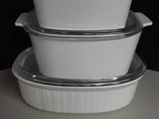 6 pcs  Corning Ware Bake Set