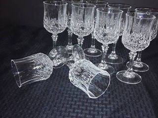 Cyistal D Arques  Wine Goblets lot 1 of 3