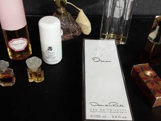 Oscar de la Renta Perfume  Chantilly  and other items