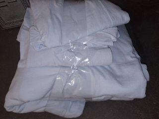 light blue full size sheet set