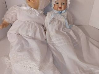 Pair of Vintage Baby Dolls
