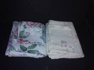 2 Full Sized Sheet Sets