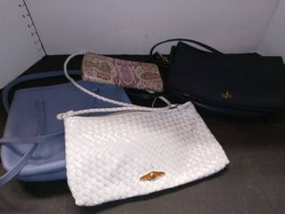 Coach  Elliot lucca Handbags with Blue Handbag and Rebecca Minkoff Wallet