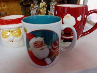 Royal Norfolk and Various Holiday Mugs