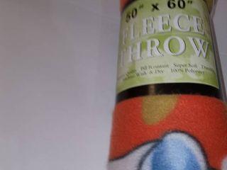 Holiday Fleece Throw 50 x 60 in