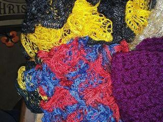 ladies winter scarves  11 Scarves and 1 Hat