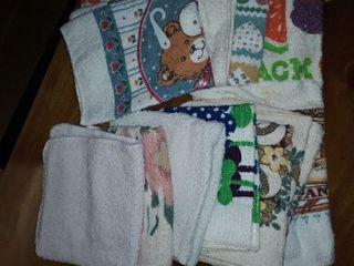 Kitchen Washcloths  Total of 11 pcs