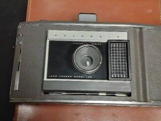 Vintage Polaroid Camera with Case