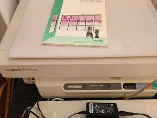 Canon PC 6RE printer with cover
