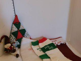 Christmas Stockings and tree skirt