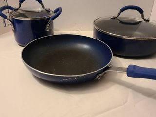 Cooks Essentials blue cookware