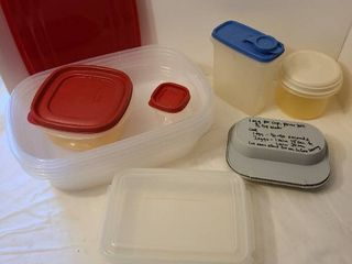Rubbermaid containers and more