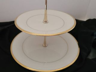 lenox two tiered server