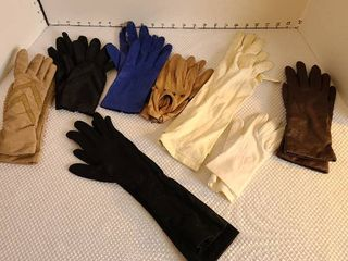 ladies gloves 8 pairs