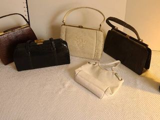 Vintage ladies handbags