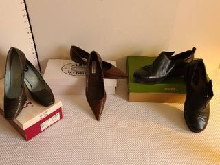 3 pairs ladies shoes size 8
