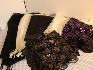 Assorted ladies scarves