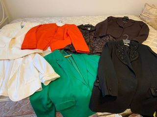 Assorted womens jackets size 14 an extra large