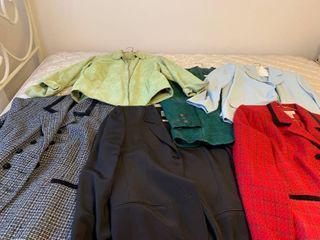 Assorted Jackets size extra large through size 20