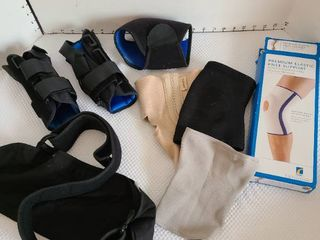 Assorted joint supports and arm sling