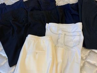 Assorted womens pants and skirt size large and extra large 14 and 16
