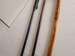 Three canes