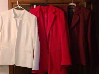 Three ladies suits  size 16