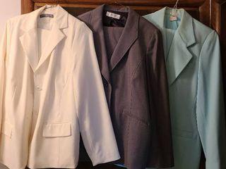 ladies suits  three size 18