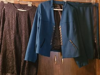ladies skirt suits  Black size Xl by Joan Rivers  and a fabulous dark teal size large by Mark Zunino