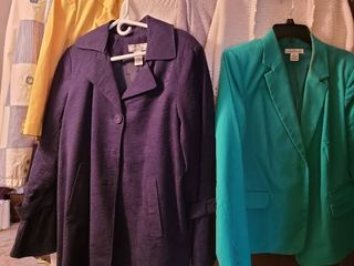 ladies outerwear  sizes large and extra large