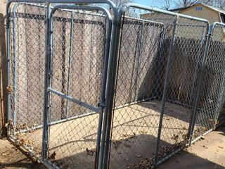 Dog run approximate 7 x 12 feet  Buyer must disassemble and load  Bring own tools