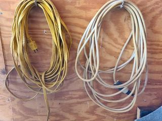 Extension cords 2 ct