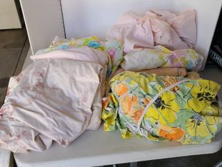 Several used sheets could be used for drop cloths
