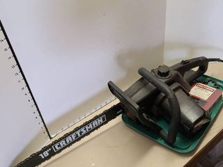Craftsman chainsaw with extra chain
