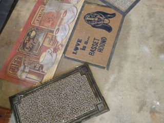 Assorted rugs various sizes