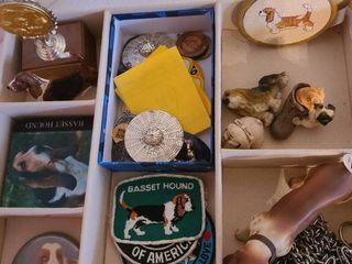 Basset hound memorabilia and much more