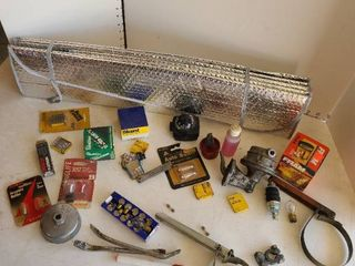 light bulbs  tools and other miscellaneous items