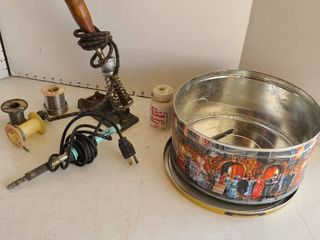 Soldering tools tin included