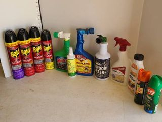 Insect repellent Sprays and other household supplies