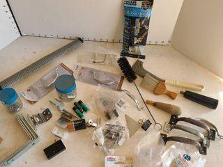 Assortment of door items and more