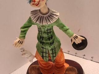 Pucci clown figurine