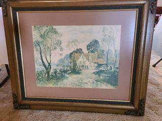 Customed framed art 38 x 32