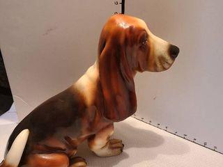 Bassett Hound Statue